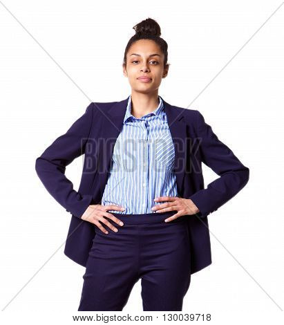Successful Young Business Woman