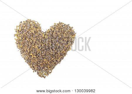 Green Tea Heart
