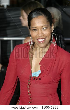 Regina King at the Los Angeles premiere of 'Collateral' held at the Orpheum Theatre in Los Angeles, USA on August 2, 2004.