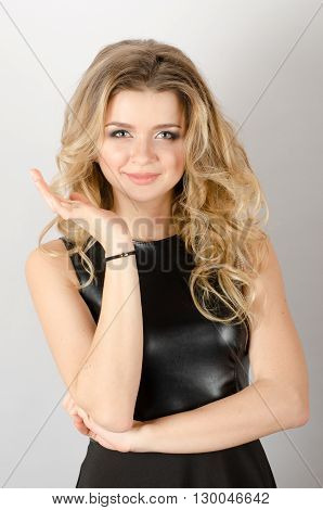 Portrait Of An Attractive Fashionable Young Woman