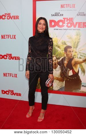 LOS ANGELES - MAY 16:  Julia Jones at the The Do-Over Premiere Screening at the Regal 14 Theaters on May 16, 2016 in Los Angeles, CA