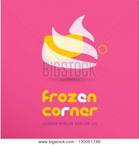 PREMIUM QUALITY LOGO / ICON DESIGN , IDEAL FOR ICE CREAM OR FROZEN YOGURT COMPANY