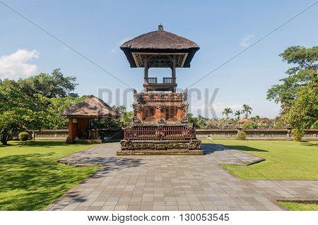 Pura Taman Ayun Temple in Bali Indonesia.