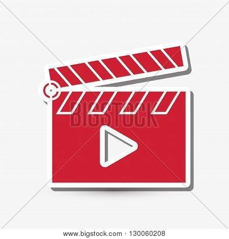 play  concept with icon design, vector illustration 10 eps graphic.