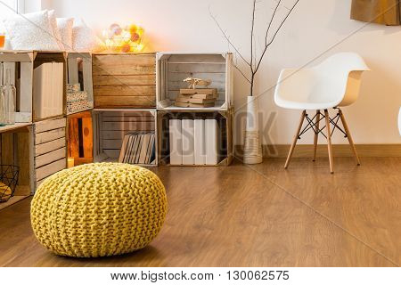Picture of a cozy modern living room
