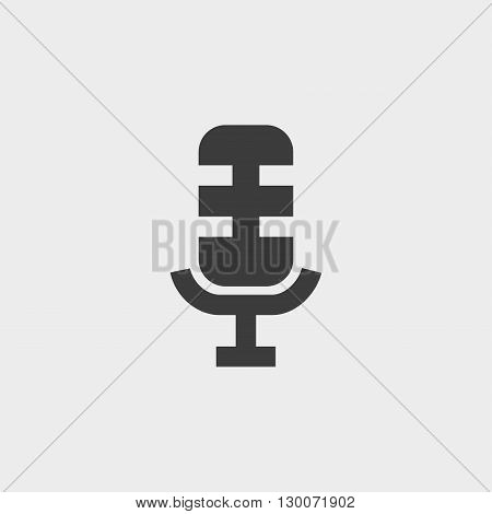 Microphone Icon. Microphone Icon Vector. Microphone Icon Image. Microphone Icon Graphic