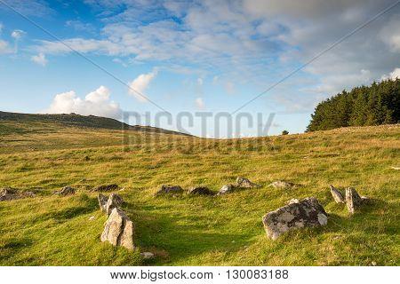 Bodmin Moor Hut Circle