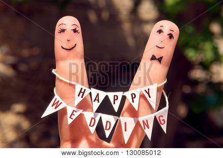 Art Of Hand. Finger Family