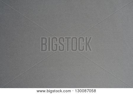 Photo of grey polyester fabric texture - background.