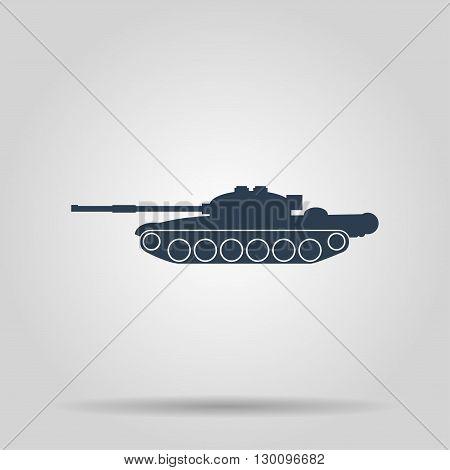Tank icon. Vector concept illustration for design.