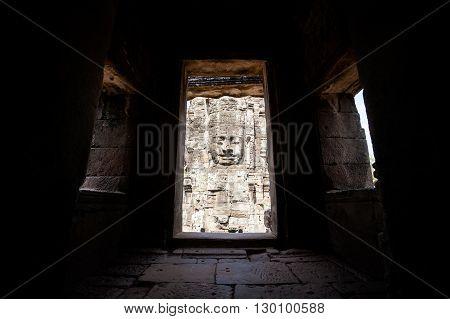 Bayon Temple Angkor Thom Cambodia