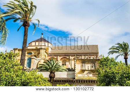 Traditional monument architecture in Cordoba village Andalusia Spain
