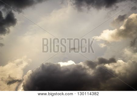 Cloudy Sky And Light