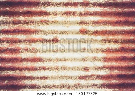 Rusty corrugated iron metal texture for any design