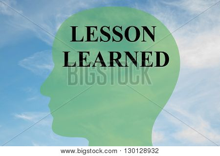 Lesson Learned Mental Concept