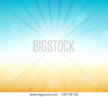 Summer theme abstract background 6 - eps10 vector illustration.