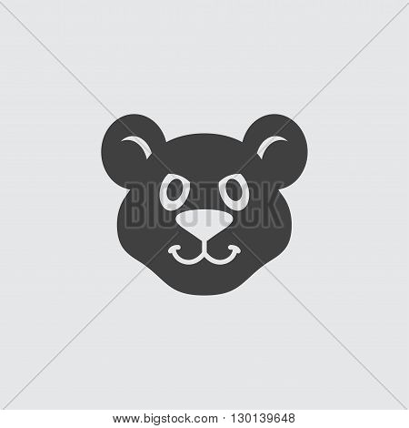 Cougar icon illustration isolated vector sign symbol