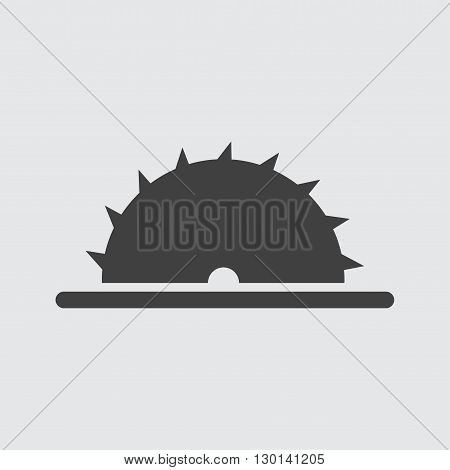Saw icon illustration isolated vector sign symbol