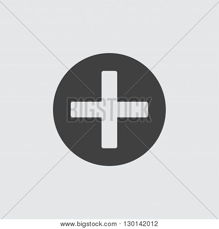Screw head icon illustration isolated vector sign symbol