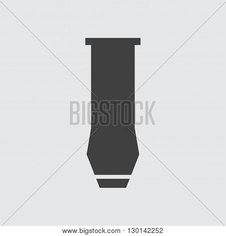 Drill nozzle icon illustration isolated vector sign symbol