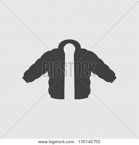 Jacket icon illustration isolated vector sign symbol