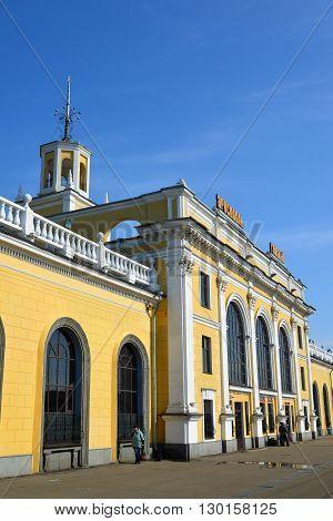 Russia, Yaroslavl-March 30.2016:  Yaroslavl main of railway station