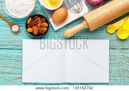 Bake Background With Notebook
