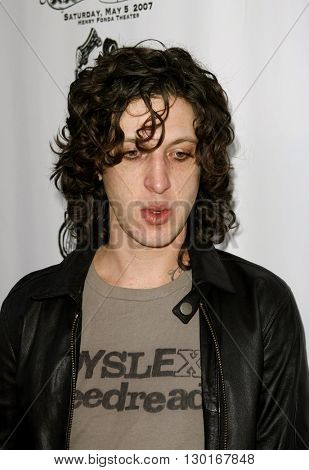 Mickey Avalon at the 3rd Annual Hullabaloo to benefit the Silverlake Conservatory of Music held at the Henry Ford Music Box Theater in Hollywood, USA on May 5, 2007.