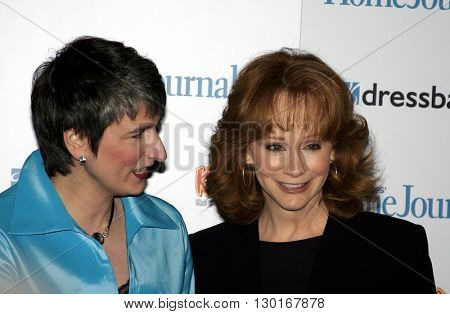 Reba McEntire and Diane Salvatore at the 2005 'Funny Ladies We Love' Awards Hosted by Ladies' Home Journal held at the Pearl in West Hollywood, USA on February 2, 2005.