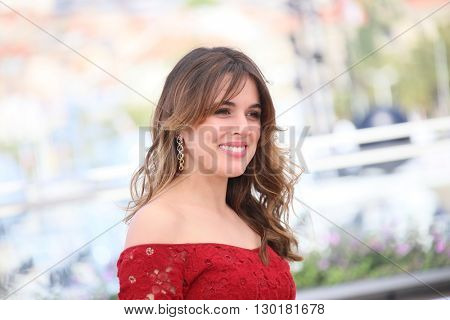 Adriana Ugarte attends the 'Julieta' photocall during the 69th annual Cannes Film Festival at the Palais des Festivals on May 17, 2016 in Cannes, France.