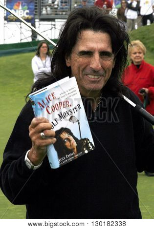 Alice Cooper at the 9th Annual Michael Douglas & Friends Celebrity Golf Tournament held at the Trump National Golf Club in Rancho Palos Verdes, USA on April 29, 2007.