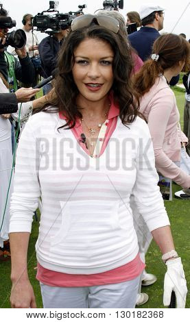 Catherine Zeta-Jones at the 9th Annual Michael Douglas & Friends Celebrity Golf Tournament held at the Trump National Golf Club in Rancho Palos Verdes, USA on April 29, 2007.