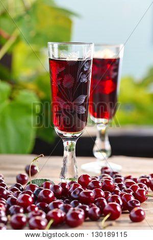 Cherry Brandy And Ripe Berries