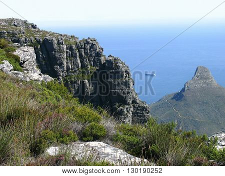 View From Table Mountain Cape Town South Africa 10