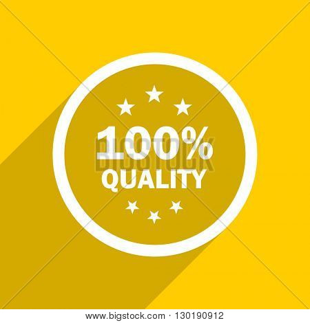 yellow flat design quality web modern icon for mobile app and internet