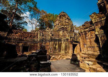 Ta Som Temple Angkor Cambodia