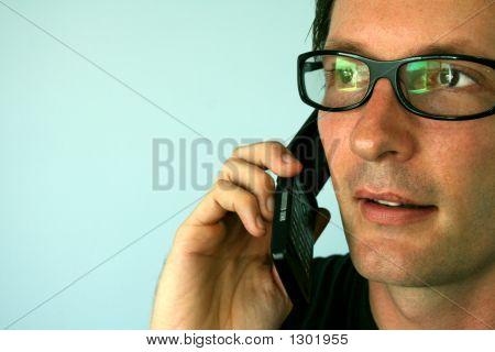 Man On A Phone
