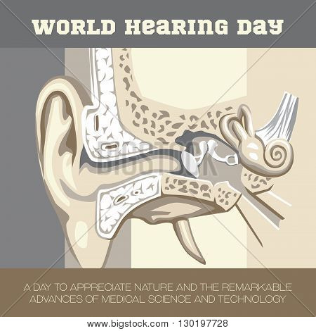 An illustration to create awareness on World Hearing Day