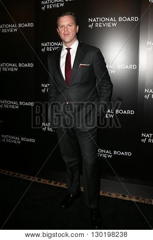 NEW YORK-JAN 5: Willie Geist attends the 2015 National Board of Review Gala at Cipriani 42nd Street on January 5, 2016 in New York City.