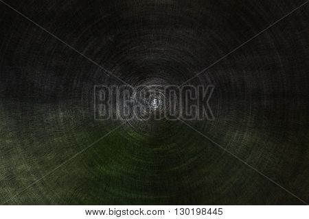 Abstract Dark Background Tunnel In Round Shape Zoom In Style