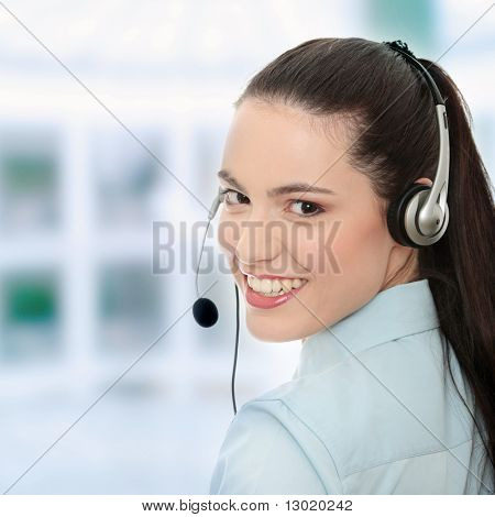Call-Center-Woman with Headset.