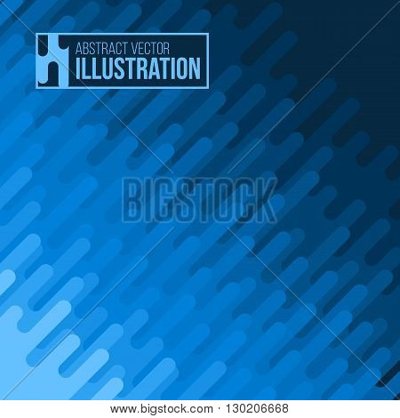 Abstract color background. Vector pattern with diagonal spot. Monochrome stripe design. Flat vector illustration.
