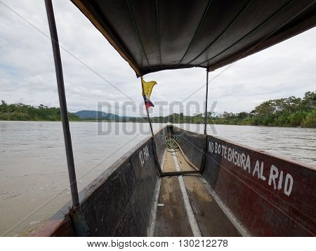 Thrilling and adventurous boat ride up the Amazon River.