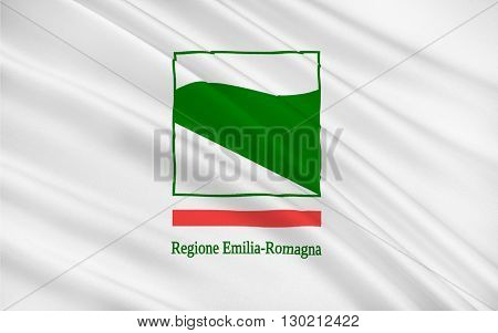 Flag of Emilia-Romagna is an administrative Region of Northern Italy comprising the historical regions of Emilia and Romagna. Its capital is Bologna