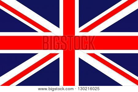 Flag of Uited Kingdom of Great Britain and Northern Ireland commonly known as the United Kingdom (UK) or Britain is a sovereign state in Europe.
