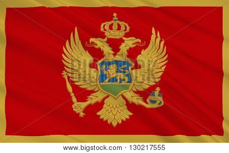 The flag of Montenegro was officially adopted on statehood day on 13th July 2004 at the proposal of the government of Montenegro. It was constitutionally sanctioned with the proclamation of the Constitution on 22nd October 2007