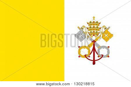 Flag of Vatican City officially Vatican City State or the State of Vatican City is a walled enclave within the city of Rome