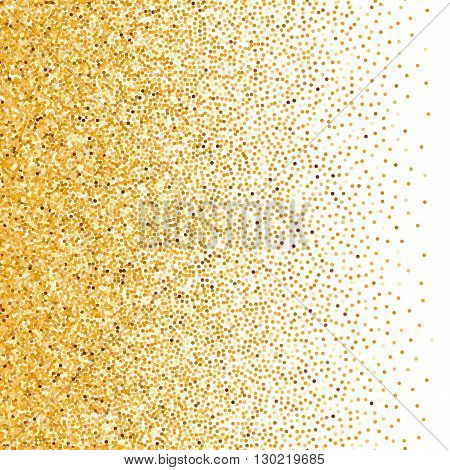 Illustration of Glitter Background in White For Your Text