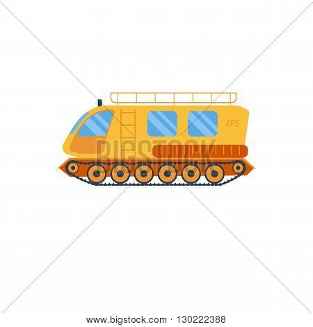 Cross country vechicle vector illustration . Isolated atv truck. Off Road Vehicle Outdoor Utility Atv illustration