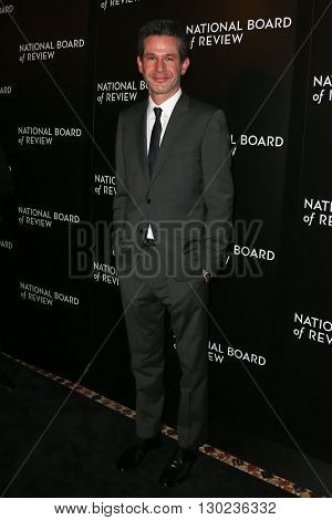 NEW YORK-JAN 5: Producer Simon Kinberg attends the 2015 National Board of Review Gala at Cipriani 42nd Street on January 5, 2016 in New York City.